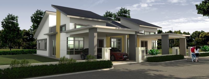 1 storey semid RE